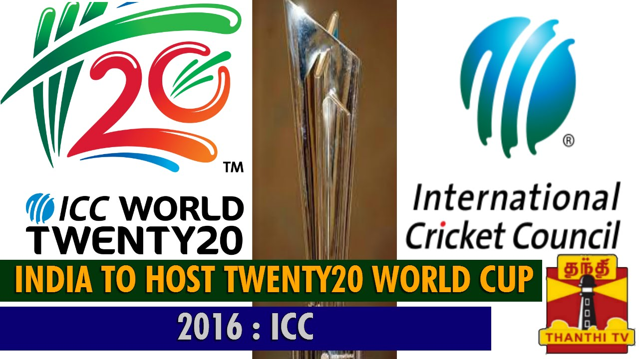 India to host T20 World Cup in 2016...-Thanthi TV - YouTube