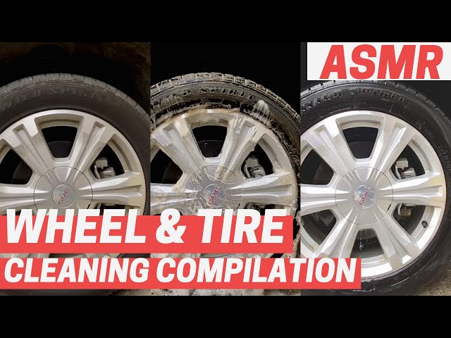 SATISFYING Wheel & Tire Cleaning Compilation | 20+ Minutes with Original Sounds
