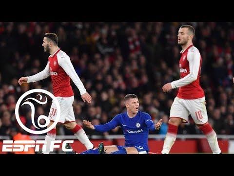 Arsenal beats Chelsea in 2-1 Carabao Cup semifinal | ESPN FC