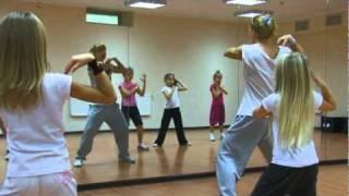Современные танцы (7-10 лет). Хореограф - Саша Ванакова(урок в Release Dance Complex., 2010-12-15T22:38:11.000Z)