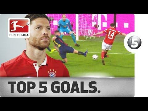 Xabi Alonso - Top 5 Goals