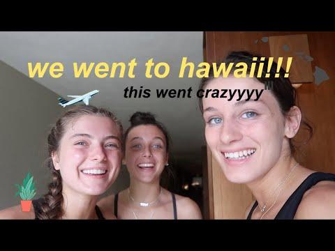 best friends go to hawaii *crazy lol haha*