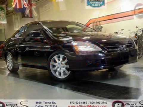 2007 Honda Accord Ex L V6 Coupe Edirect Motors Youtube