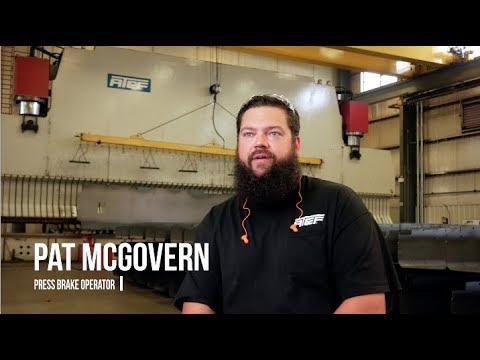 Pat McGovern, Press Brake Operator - AT&F