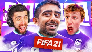 WORKING ON OUR TEAM CHEMISTRY! (Sidemen FIFA 21 Pro Clubs)