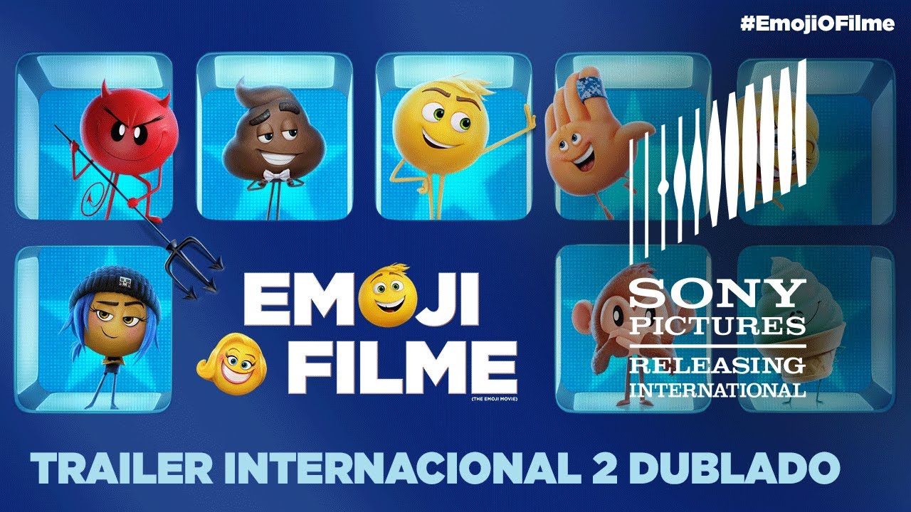 Emoji O Filme Trailer Internacional 2 Dublado 31 De Agosto Nos Cinemas Youtube