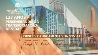Culto - Manhã - 09/08/2020 - Rev. Elizeu Dourado de Lima