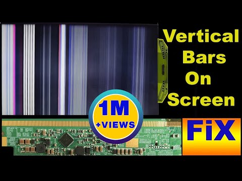 How To Fix Vertical Bars On LED TV