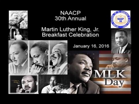 NAACP Martin Luther King Jr. Breakfast (1-16-16)