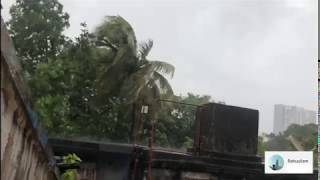 Super cyclone Amphan hits Kolkata live video captured