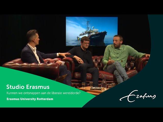 Studio Erasmus - Kunnen we ontsnappen aan de liberale wereldorde?
