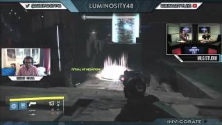 Into the Nightfall - Steps 2-4 Week 1(MLG.tv Destiny Bounty - May 14th 2015)