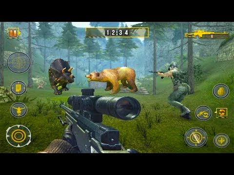 Sniper Hunt: Safari Survival - Android GamePlay - Safari Hunting Games Android