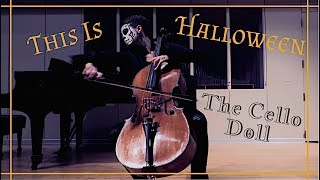This Is Halloween from The Nightmare Before Christmas | Cello Instrumental Cover