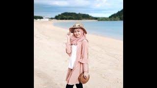 Gambar cover Syle Hijab di Pantai ala Selebgram Cantik Saritiw😍😙
