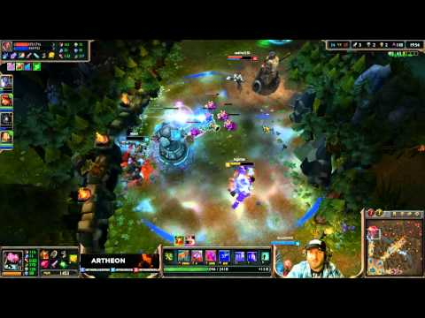 REPLAY LIVE ARTHEON - Mundo Porc is in DA PLACE ! Last move 1 VERSUS 4 ! [League of Legends]