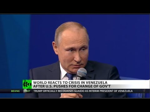 Putin Warns US: Hands Off Venezuela