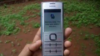 Reset Nokia X2-00