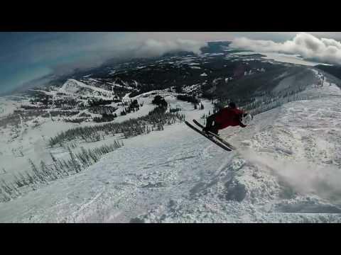 Skiing Schweitzer Mountain February 2, 2017