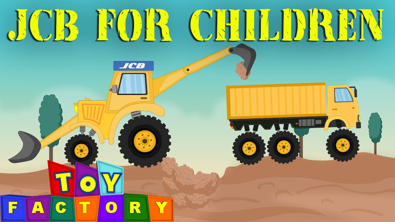 Uncategorized Vidios For Kids jcb for children monster trucks video youtube