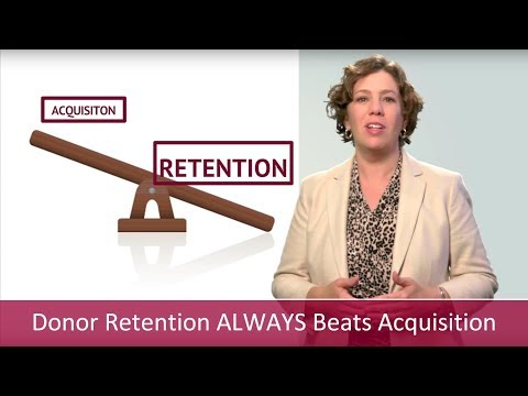 Donor Retention ALWAYS Beats Donor Acquisition | Major Gifts Challenge