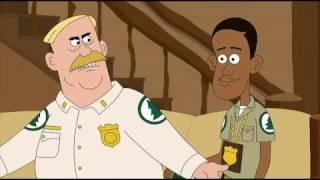 Белые. Юмор черных. Бриклберри 3 сезон 4 эпизод.