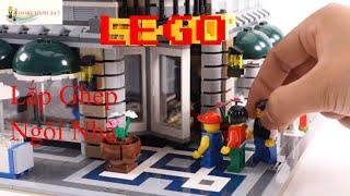 TRÒ CHƠI LEGO XẾP HÌNH - BỘ ĐỒ CHƠI  LẮP GHÉP NGÔI NHÀ LEGO – hoathinh 24 7 (hh24 7)