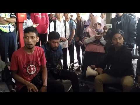 Bentrok antara Aliansi Mahasiswa Papua Yogyakarta dan Ormas berakhir di Dema Justicia