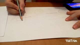 Speed drawing of Mercedes-Benz Vision Maybach 6