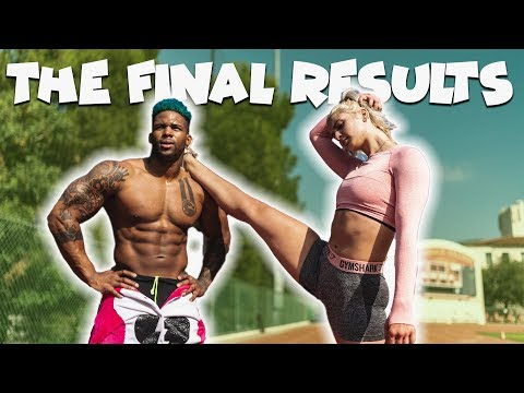 THE FINAL RESULTS (GYM AND TRACK WORKOUT) | LOSING 10LBS IN 24 HRS