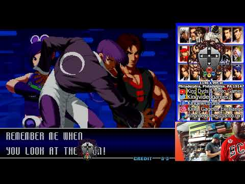 the king of fighters 2002 king video games |