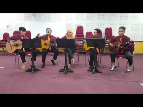 Tua tua keladi - T2 cover by (QONTI) quintet guitar classic