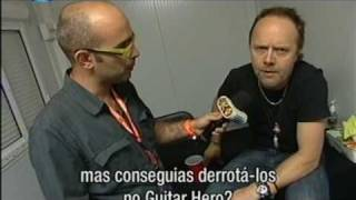Metallica Portugal 2009 (interview with Lars)