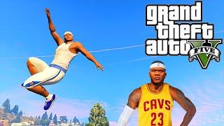 Grand Theft Auto V: GTA 5 - Parkour Fails # 7 (Best Parkour Stunts, Lebron James, Gym Fails )