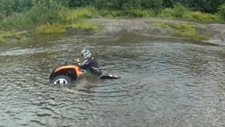 Out on the Arctic Cats 700 mudpro and 550 h1