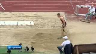 Markus Rehm - 8.24 m - German Champion Long Jump 2014