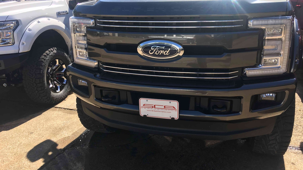 2017 Ford F-250 Southern Comfort Black Widow 1st one ...