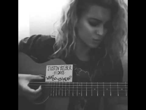 justinbieber: Thanks @torikelly. Love her voice so asked her to sing a little