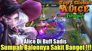 Balon Alice Sakitnya Sampai Ke Tulang-Tulang  - Top 1 Global Alice χshogun