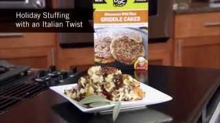 Minnesota Wild Rice Stuffing | Italian Twist!