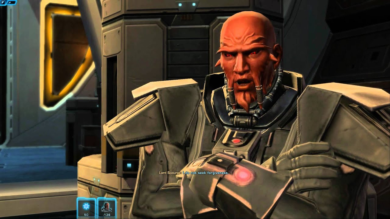 SWTOR: Lord Scourge speaks of Revan and the Exile ... лорд