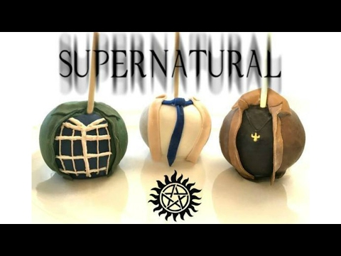 SUPERNATURAL CANDY MELT DIPPED APPLES! - MISS TRENDY TREATS