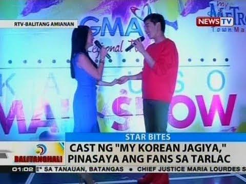 """BT: Cast ng """"My Korean Jagiya,"""" pinasaya ang fans sa Tarlac"""