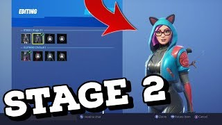 *STAGE 2* LYNX Skin Gameplay In Fortnite Battle Royale