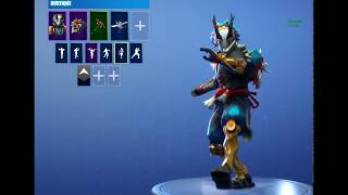 FORTNITE NEW SKINS AND EMOTES ! 6.30 (RIOT, MAKI MASTER, TARO)