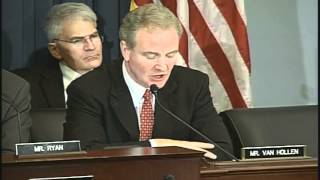 Van Hollen Opening Statement at Hearing on the CBO