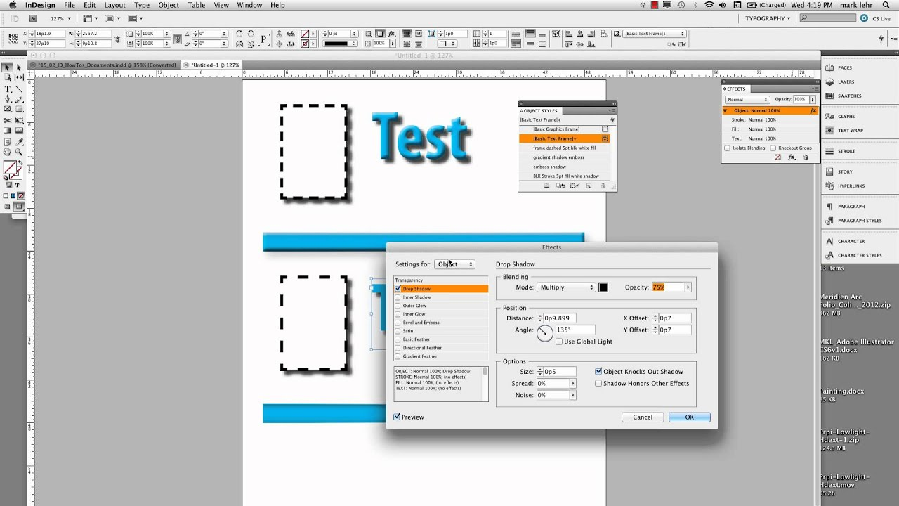 How to apply InDesign cell styles | lynda.com tutorial ...