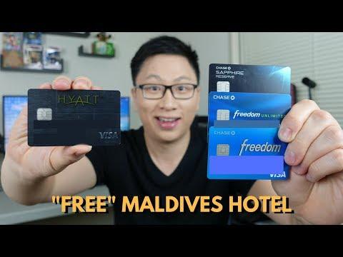 """""""Free"""" $10,000+ Maldives Hotel w/ Chase Trifecta + Chase Hyatt"""