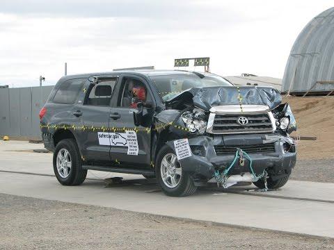 2008-2019 Toyota Sequoia NHTSA Frontal Impact