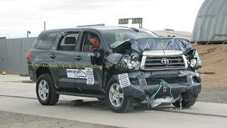 2008-2016 Toyota Sequoia NHTSA Frontal Impact